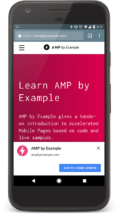 Combine AMP with Progressive Web Apps