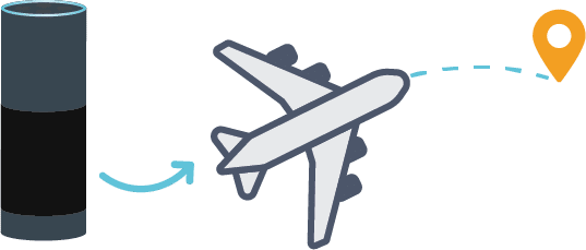 Alexa booking business travel