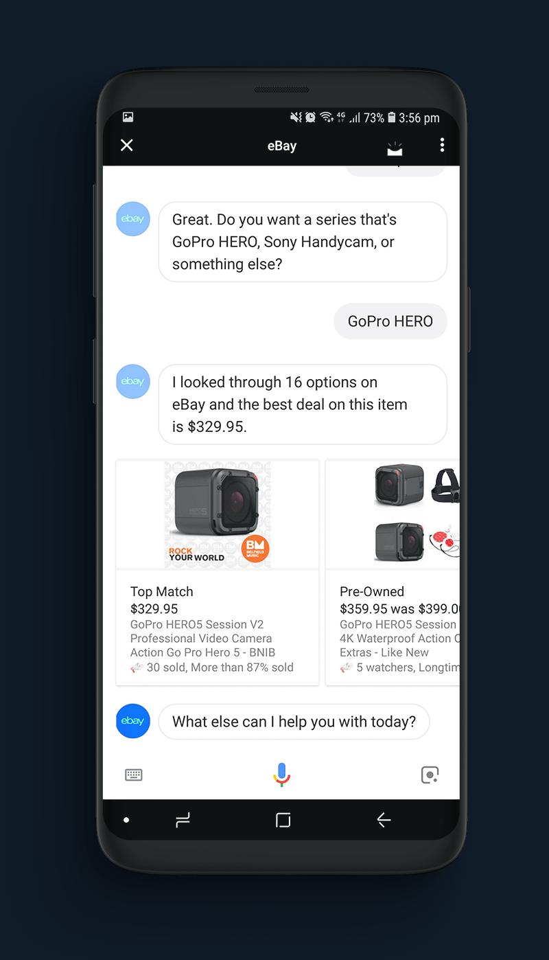 eBay Voice Commerce