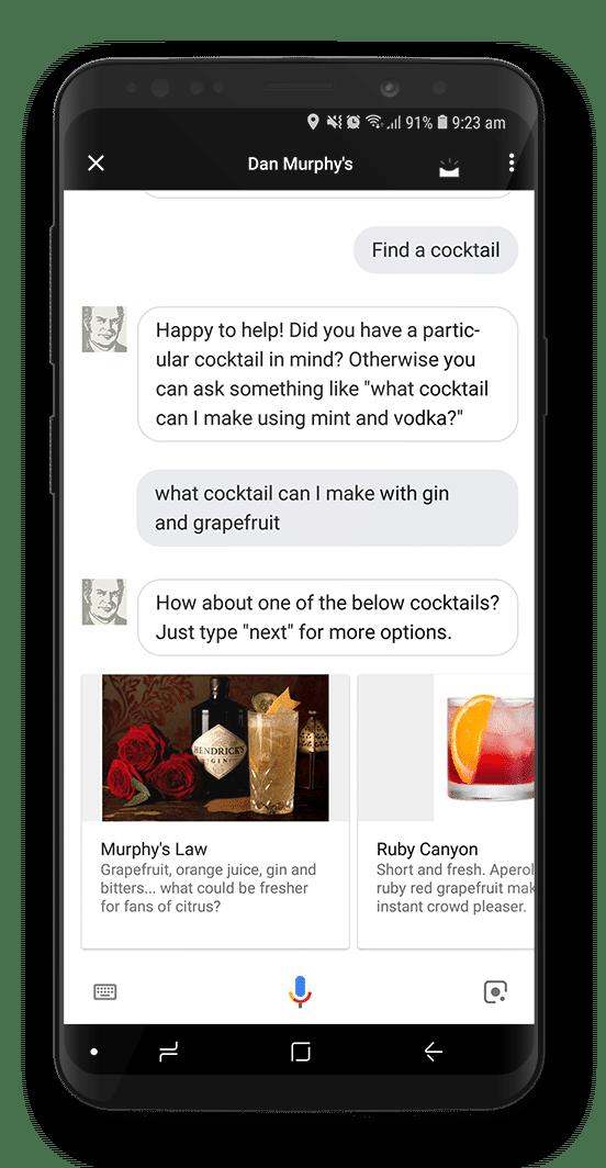 Dan Murphy's Voice App