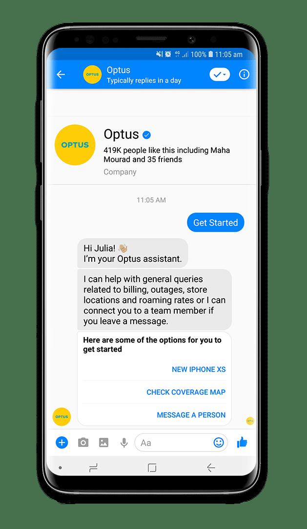 Optus Chatbot