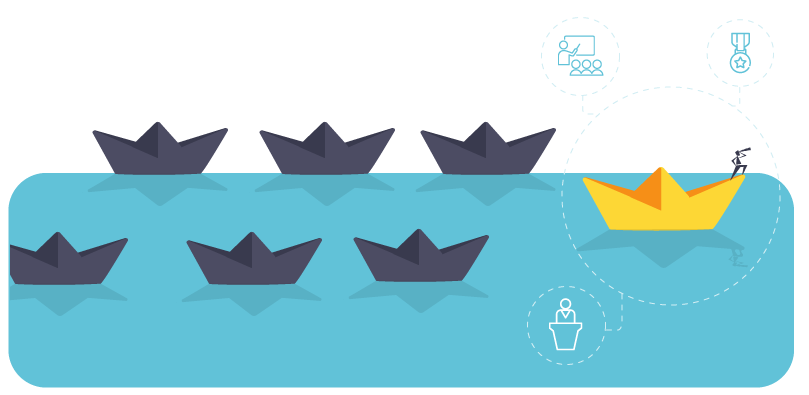 Fosters leadership boats