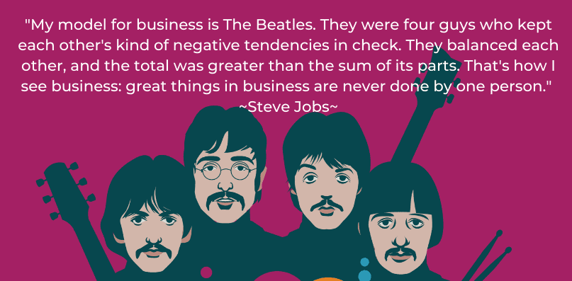 The Beatles - business model