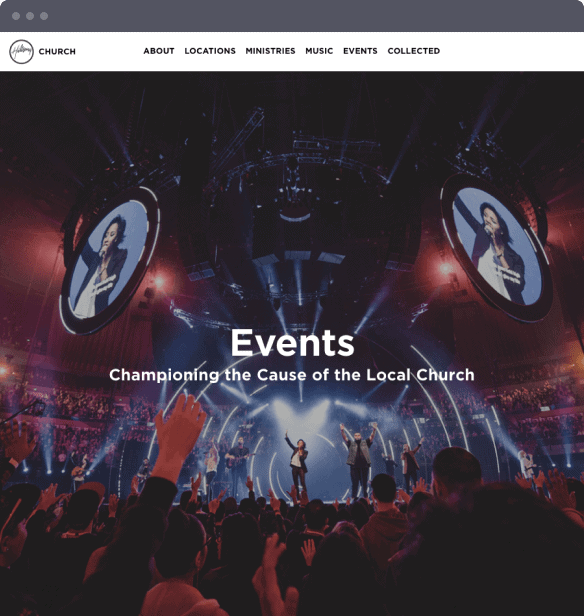 Events at Hillsong