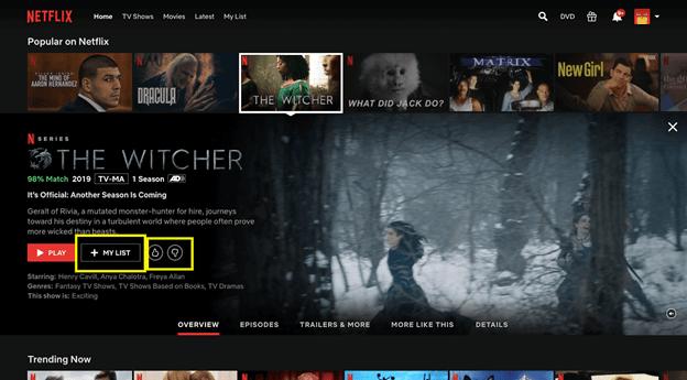 Netflix - personalisation