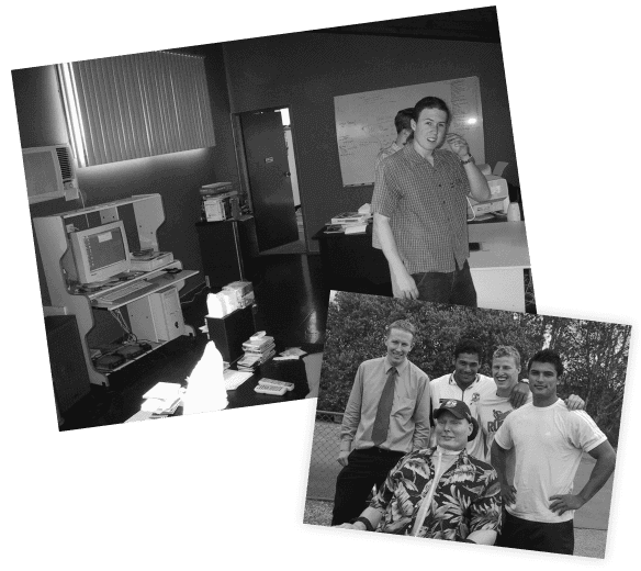 Early photos of 4mation